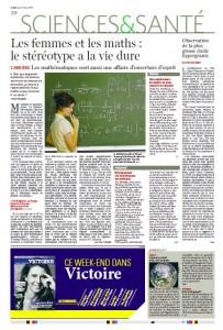 les femmes et les maths le stereotype a la vie dure